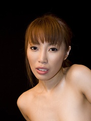 Kaede Kyomoto toys herself and sucks cock - Japarn porn pics at JapHole.com