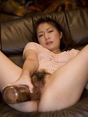 Sexy Sayaka Kurashina gets facialed - Japarn porn pics at JapHole.com