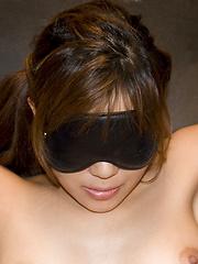 Lucky man plays with Yuuno Hoshi - Japarn porn pics at JapHole.com