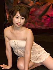 Japanese adult model Kanae Serizawa hardcore scene