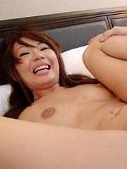 Pretty Mio Hiragi double blowjob action - Japarn porn pics at JapHole.com