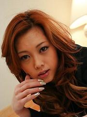 Horny Miho Maejima double blowjob and fuck - Japarn porn pics at JapHole.com
