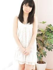 Japanese adult model Mina Morioka