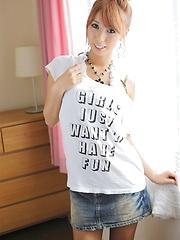 Hot asian babe Miku - Japarn porn pics at JapHole.com