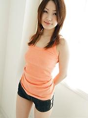 Ayano posing in sexy panties - Japarn porn pics at JapHole.com