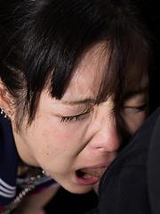 Rough guy drillss Maeshiro Shizuka mouth - Japarn porn pics at JapHole.com