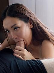 Sexy japanese babe Yukishiro Madoka strokes and sucks - Japarn porn pics at JapHole.com