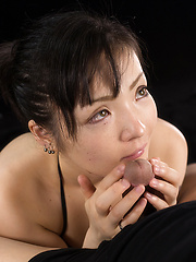 Tsuruno Yuu takes facial cumshot - Japarn porn pics at JapHole.com