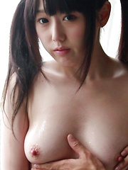 As the Director spreads Machiko's cheeks, her tight Japanese slit opens, connected by honey like strings of sticky wetness. Her stomach is full of nervous butterflies. - Japarn porn pics at JapHole.com