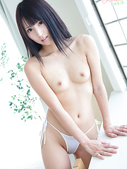 At CKE18, we love anything white that covers a Japanese girl's ass. White jeans, white booty shorts, thongs, cotton panties! You name it, we drool over it! - Japarn porn pics at JapHole.com