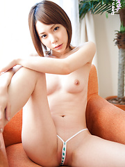 Ryouko's Japanese ass is like an electromagnetic lethal weapon, like Kryptonite for the CKE18 director. Licking every inch of her body would be ecstasy. - Japarn porn pics at JapHole.com