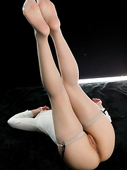 Sakurai Ruru wearing stockings - Japarn porn pics at JapHole.com