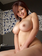 Big titted asian wearing sexy purple lingerie - Japarn porn pics at JapHole.com