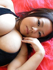 Busty japanese Fuko monster big boobs - Japarn porn pics at JapHole.com