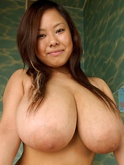 Busty japanese Fuko monster big boobs