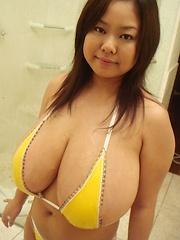 Busty Asian Fuko gigantic japanese breasts - Japarn porn pics at JapHole.com