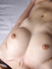 Amateur big titted asian milking her natural tits - Japarn porn pics at JapHole.com