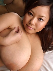 Sexy busty japanese Fuko posing her gigantic tits - Japarn porn pics at JapHole.com