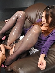 Touch my hairy pussy - Japarn porn pics at JapHole.com