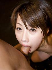 Kanae Serizawa loves to suck