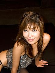 Japanese girl Yuuno Hoshi likes to suck... - Japarn porn pics at JapHole.com