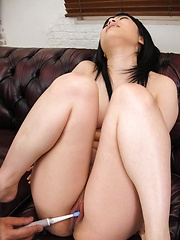 Hina Maeda Asian has juicy crack aroused to the max with sex toys - Japarn porn pics at JapHole.com