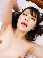 Tomoka Sakurai Asian rides cock so well after having cunt rubbed - Japarn porn pics at JapHole.com