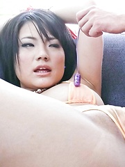 Haruna Katou Asian gets vibrators on and inside her cum dumpster - Japarn porn pics at JapHole.com