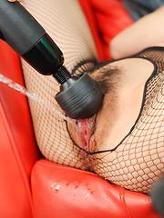 Yuu Kusunoki Asian bunny gets cum in mouth and vibrator on cunt - Japarn porn pics at JapHole.com