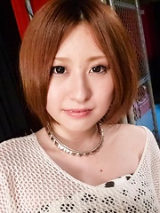 Ruri Haruka Asian has mouth fucked and fish taco fingered by guy - Japarn porn pics at JapHole.com