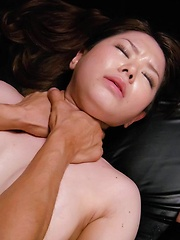 China Mimura Asian gets vibrator and dick in pussy in rough fuck - Japarn porn pics at JapHole.com