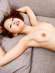 Suzuka Ishikawa the AV sweetheart sucks cock and gets a creampie - Japarn porn pics at JapHole.com