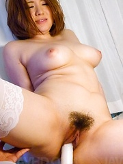 Alice Ozawa Asian gets more and more pleasure from vibrators - Japarn porn pics at JapHole.com