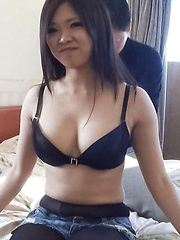 Yuuki Motomiya Asian has big boobs sucked and gives fine blowjob - Japarn porn pics at JapHole.com