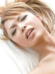 Chihiro Kobayashi Asian gets vibrator on clit and cock doggy way - Japarn porn pics at JapHole.com