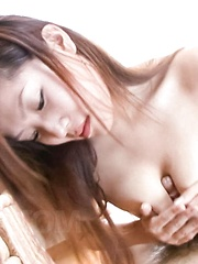 Kaede Ichijou Asian is fondled all over and rubs dicks with tits - Japarn porn pics at JapHole.com
