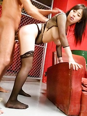 Azusa Nagasawa Asian with huge boobs sucks tool and rides it - Japarn porn pics at JapHole.com