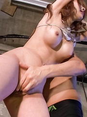 Miharu Kai Asian with tied hands is aroused to max with vibrator - Japarn porn pics at JapHole.com