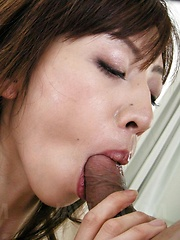 Kanon Hanai Asian has asshole fucked with fingers and hard penis - Japarn porn pics at JapHole.com