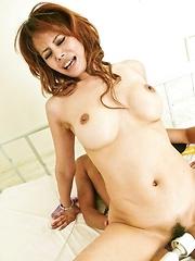 Moe Aizawa sucks tool while getting dildos and vibrators in ass - Japarn porn pics at JapHole.com