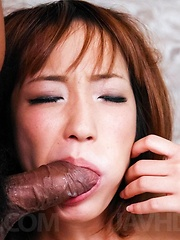 Sana Anzyu Asian is fingered in asshole and in dark cut by dudes - Japarn porn pics at JapHole.com