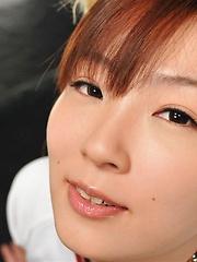 Japanese girl Kaede Ooshiro - Japarn porn pics at JapHole.com