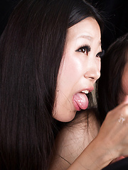 Miyanaga Kaori  and Itou Rin energetic handjob - Japarn porn pics at JapHole.com