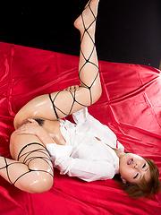 Oshiro Kaede masturbating - Japarn porn pics at JapHole.com