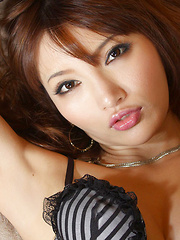 Chie Yamauchi Asian is naughty and appetizing in photo session - Japarn porn pics at JapHole.com