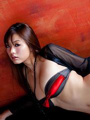 Sayuki Matsumoto Asian has big boobs in small bra and hot behind - Japarn porn pics at JapHole.com