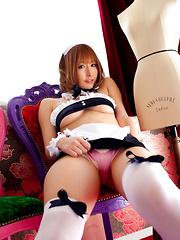 Iyo Hanaki Asian shows ass and some tits no matter of outfits - Japarn porn pics at JapHole.com
