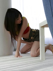 Lovely Rika Sonohara teases with her body and gets nailed - Japarn porn pics at JapHole.com