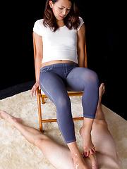 Kagawa Misato feet massage  - Japarn porn pics at JapHole.com