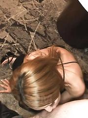 Sakura Kiryu Asian shares with babe cum she gets after blowjob - Japarn porn pics at JapHole.com